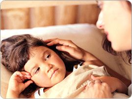 Seizures in young kids and toddlers.