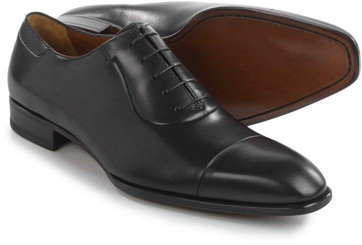 A. Testoni Cap-Toe Oxford Shoes - Leather (For Men)