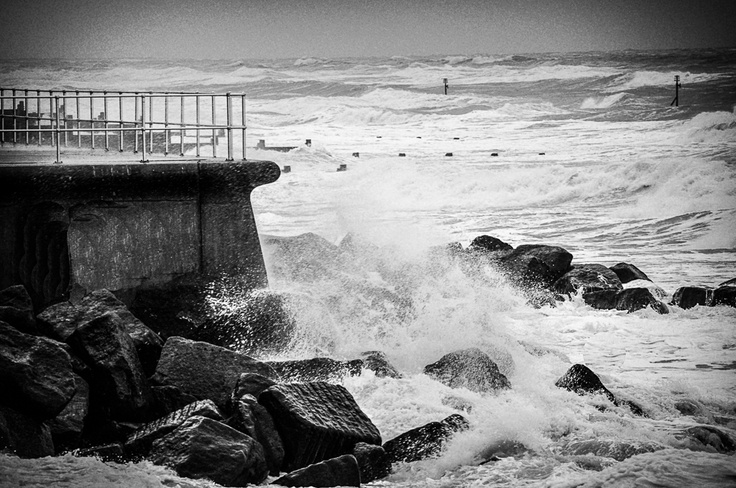 High Tide   Sheringham in North Norfolk. Image taken by Milly M.