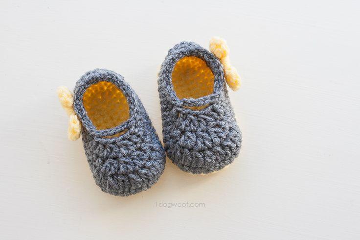 Piper Jane Baby Shoes Crochet Pattern Pinterest Free ...