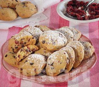Lajos Mari konyhája - Áfonyás- csokis keksz