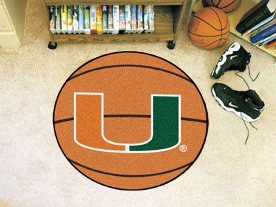 Basketball Mat - University of Miami