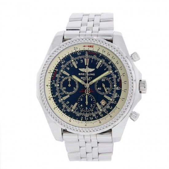 Breitling Chornograph Automatic Men?S Watch Stainless Steel Luxury.