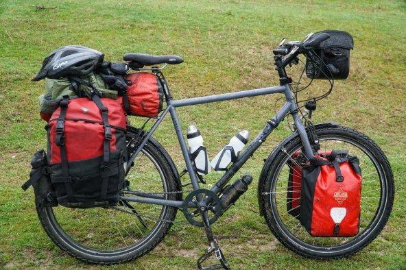 Meine Radtaschen-Packordnung: was, wie und wo hinkommt auf Tour