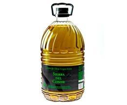 NaturVie || Aceite de Oliva Virgen Extra 5 L. Sierra del Conde. Imprescindible en nuestra cocina y que no puede faltar en nuestra rica dieta mediterránea.  52 cajas por Pallet.  Caja de 3 unidades.
