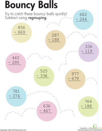 Number Names Worksheets regrouping worksheets 3rd grade : Pre School Worksheets : 3 digit addition regrouping worksheets 2nd ...