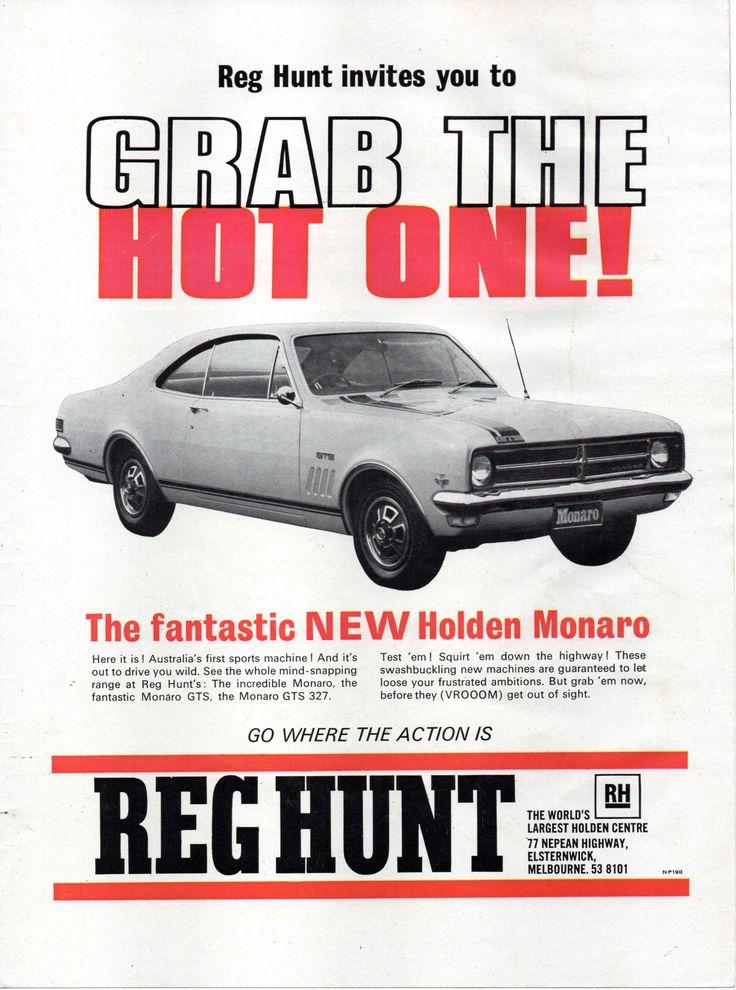 https://flic.kr/p/UuW3SA   1968 Reg Hunt HK Holden Monaro GTS-327 Aussie Original Magazine Advertisement   EPSON scanner image