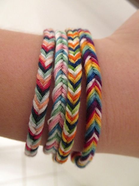 How-To: Fishtail Braided Friendship Bracelets