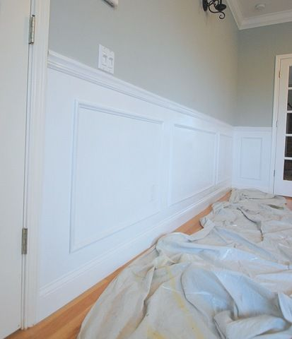 Wainscot Picture Frame After Side View