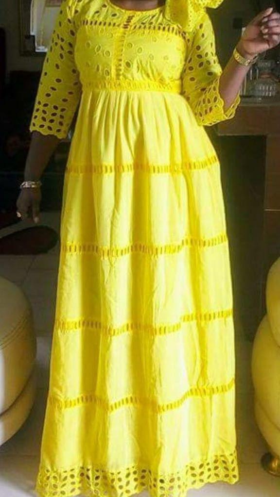 61da4b90de Dentelles | Dentelles en 2019 | Mode africaine robe, Robe chic et Robe en  pagne africain