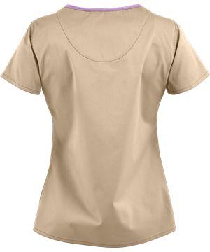 Blusa Médica Med Couture MC² EZ Flex Lexi | Uniformes Medicos Peaches