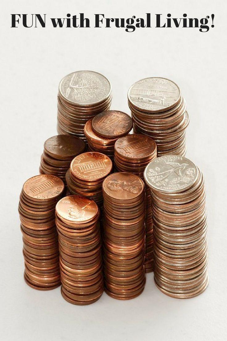 Frugal living, saving money, debt free