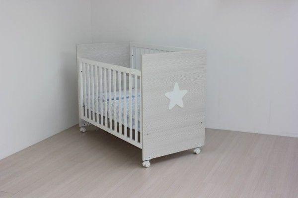 Cuna de bebe de madera Blasi Bed Star Siena 120x60cm. [C.STAR] | 152,00€ : La tienda online para tu peke | tienda bebe pekebuba.com