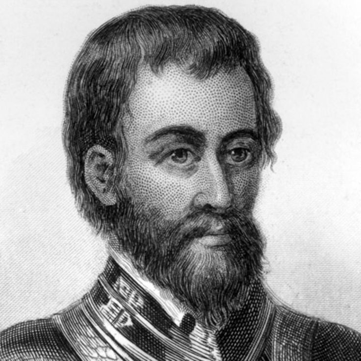 Hernando de Soto was a Spanish explorer and conquistador who participated in the conquests of Central America and Peru and discovered the Mississippi River.