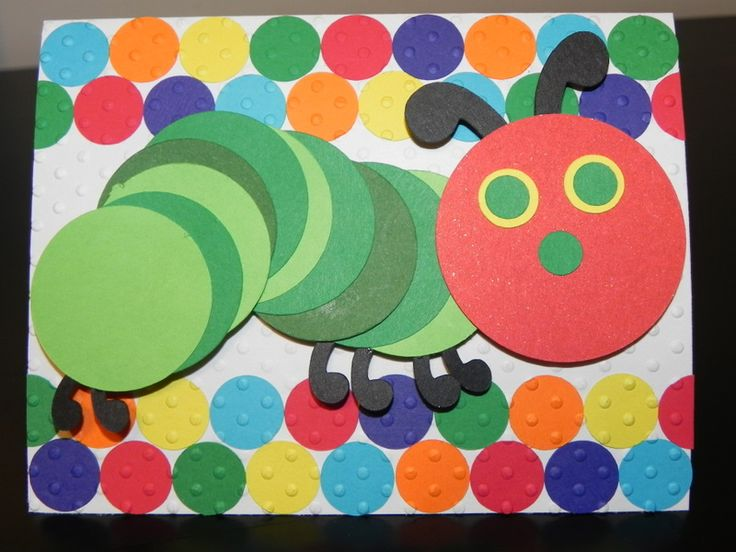 62 best Eric Carle images – Hungry Caterpillar Birthday Card