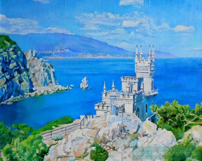 картины маслом пейзажи крыма - Google'da Ara