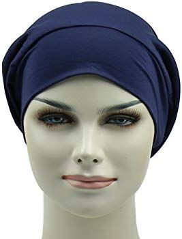 Satin Lined Sleep Cap For Long Hair Girl Casual Slouchy Beanie Wig  Accessories Headwear at Amazon Women s Clothing store  e0bb7519ddba