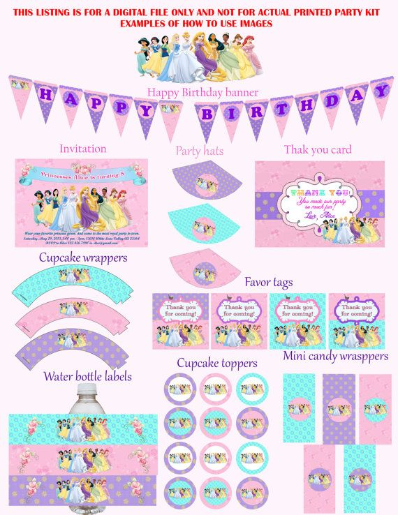 Free printable disney princess invitations roho4senses free printable disney princess invitations filmwisefo
