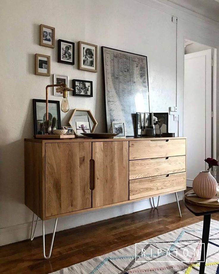 Atelier Ripaton Hairpin Legs Pour un banc une table basse ou une table haute son design est unique fonce DIY Meuble Furniture Hairpin