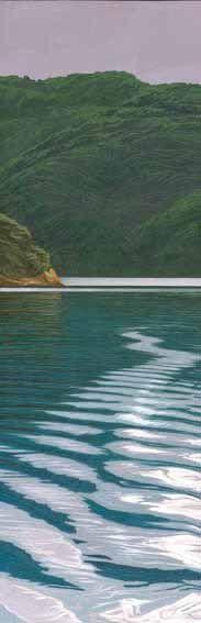Marlborough Sounds at Dusk by Rick Edmonds for Sale - New Zealand Art Prints