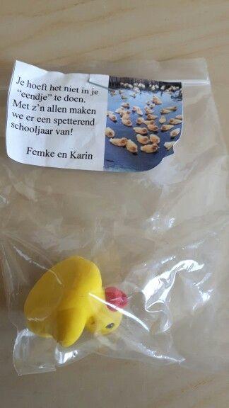 Begin schooljaar #start #duck #new