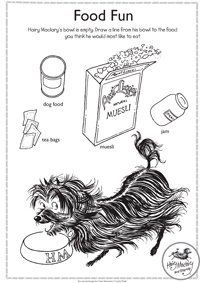 Hairy Maclary activity - food fun