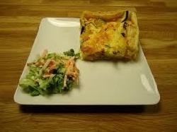 Groente taartje (lunch)