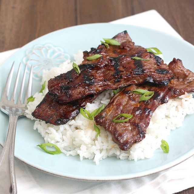 Grilled Beef Teriyaki by Tracey's Culinary Adventures, via Flickr