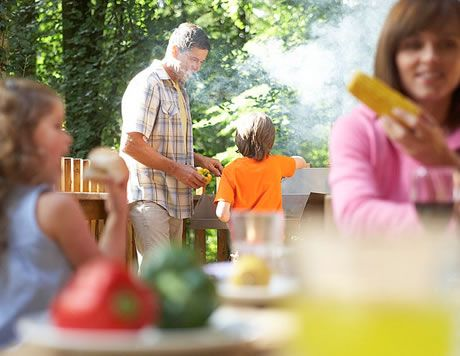 BBQ in the forest at Deerpark #Cornwall #ForestRetreat #UKgetaway #summer #FamilyHoliday