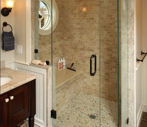 10 best images about flynn master on pinterest white for Tumbled marble bathroom designs