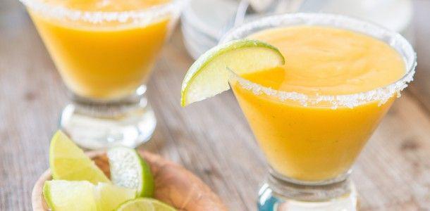 Paleo Frozen Mango Margarita Recipe
