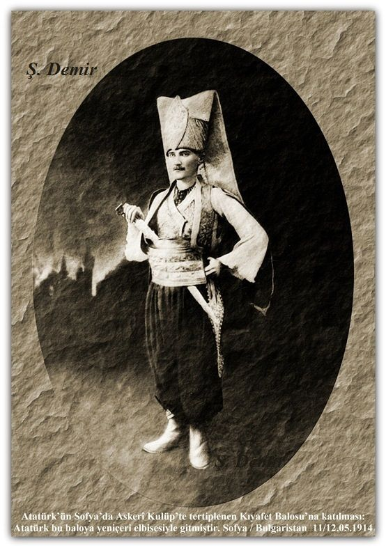 ATATÜRK ( Sofya / Bulgaristan ) 11-12.05.1914