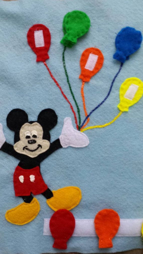 Quiet book color matching mickey balloons https://www.etsy.com/listing/259618651/ready-to-ship-mickey-color-matching