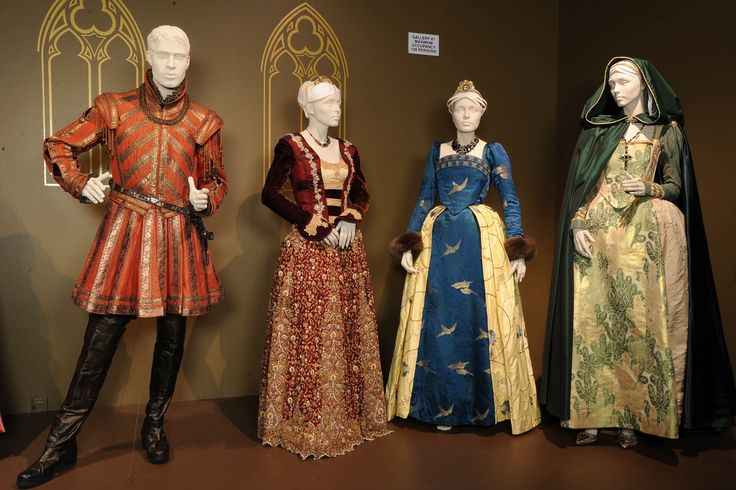 More costumes from The Tudors
