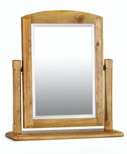 Welland Dressing Table Mirror, with sturdy stand and bevelled glass...worth a look!