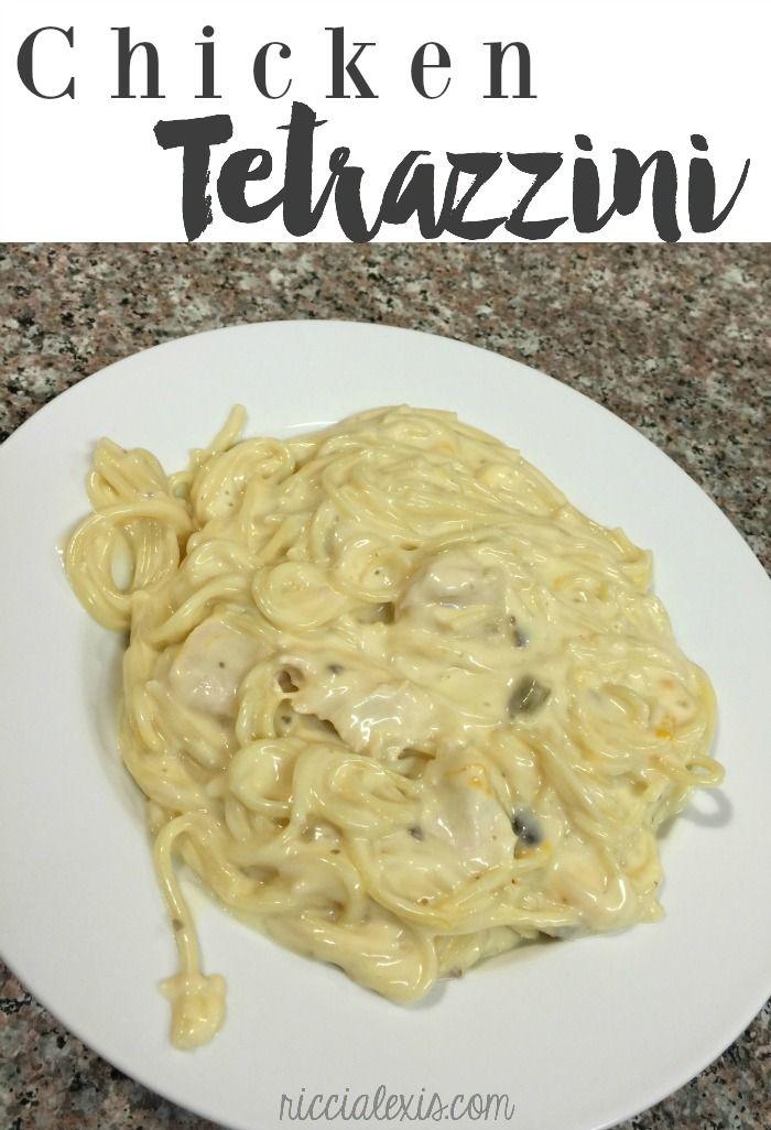 Chicken Tetrazzini recipe!! So good!!!