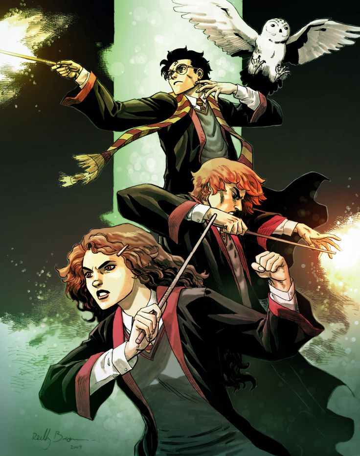 Harry Potter by ReillyBrown deviantart com