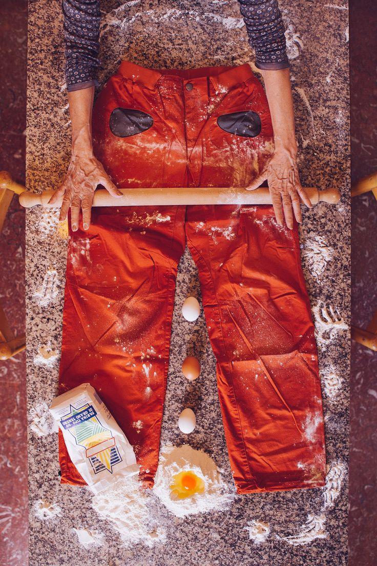 Rondo pants - made in Italy like pasta