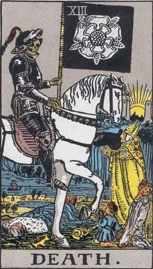 ...Our new wisdom will bring tears to the eyes of the gentle.- Joseph Pintauro #tarot #death