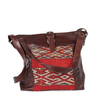 Savannah Kilim Bag Brown, 176€, now featured on Fab.
