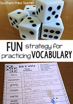 Looking for an easy and fun teaching idea for your students to practice their vocabulary words? My students loved it and never realized they were learning! This strategy can work for any grade, from kindergarten to high school!