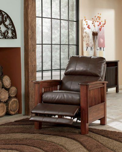 Santa Fe - Bark High Leg Recliner by Ashley, http://www.amazon.com/dp/B002MAFTD4/ref=cm_sw_r_pi_dp_tqGwsb0069Z3R