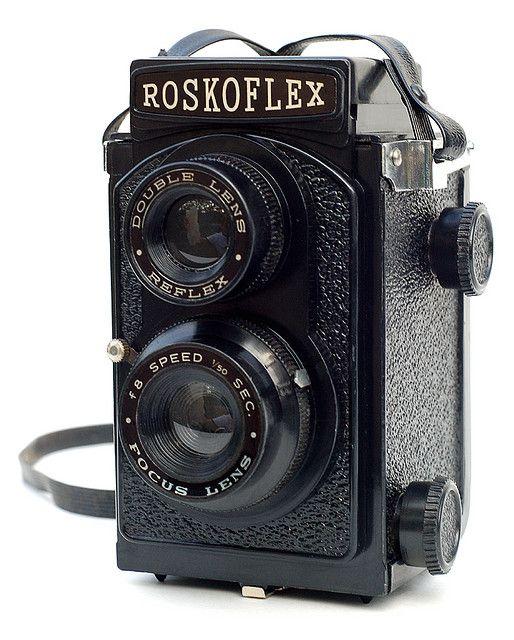 Roskoflex. Vintage Lomography - Lomo ready cameras - Vintage collectible cameras www. Etsy.com/VintageLomography