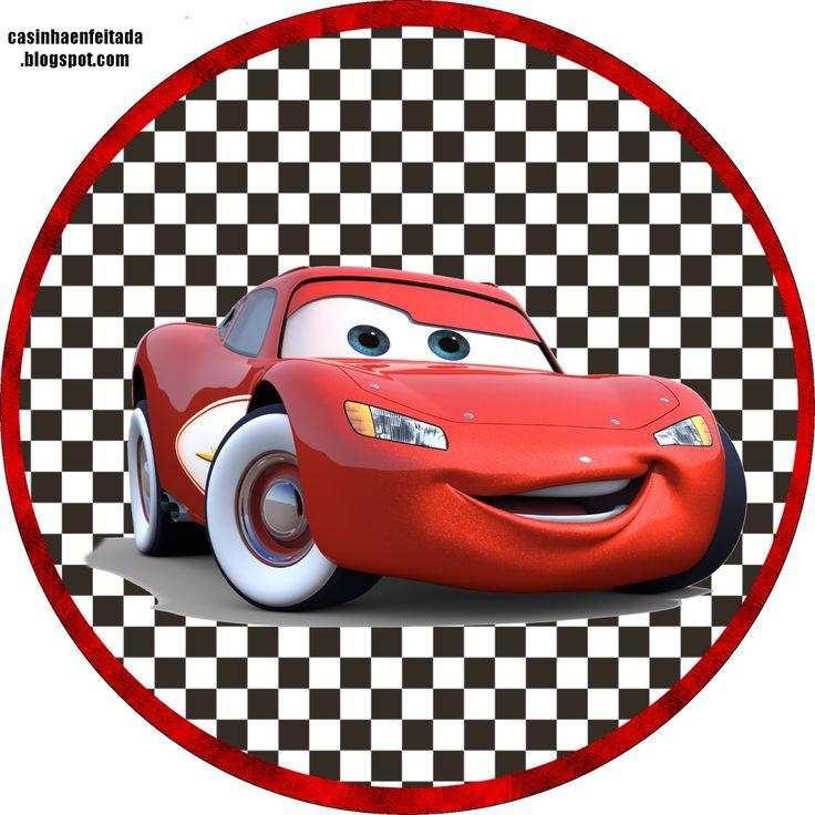 Decoración DIY para cumpleaños, temática Cars y Rayo McQueen: etiquetas para zumos y comida, etc. / Diy birthday decoration for kids with Lightning McQueen