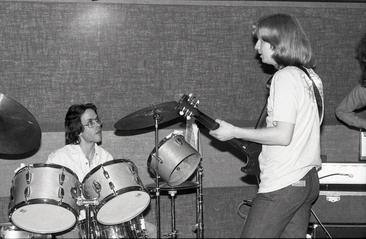 Jamie and Jeff Porcaro, Toto 1978