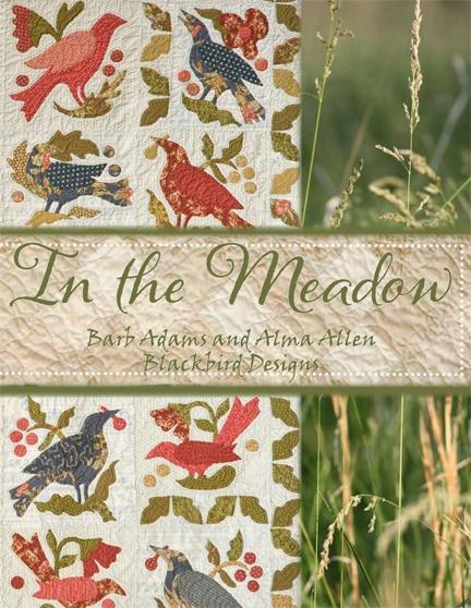 Blackbird Designs - One stitch at a time: Quilts Patterns, Blackbird Design, Quilts Blocks, Alma Allen, Crows Quilts, Art Quilts, Quilts Books, Birds Fabrics, Birds Patterns