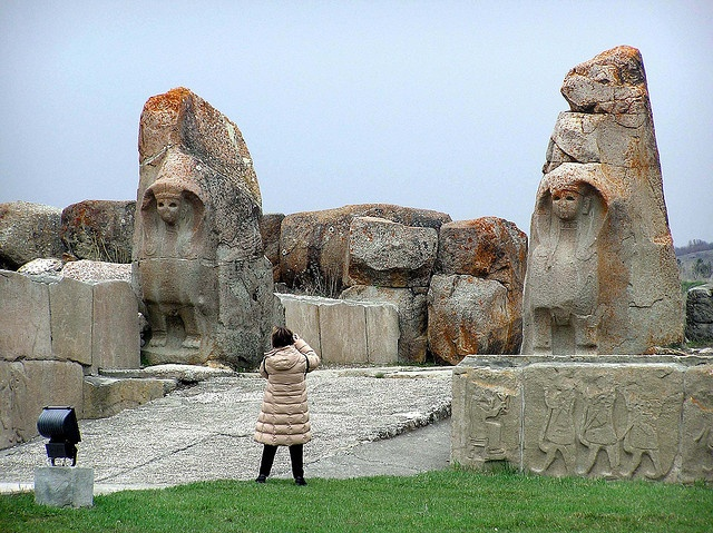 Hattusa, Boğazkale, Turkey - the great capital of the Hittite empire.