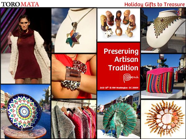 Holiday Gifts to Treasure... Preserving  Artisan Tradition!