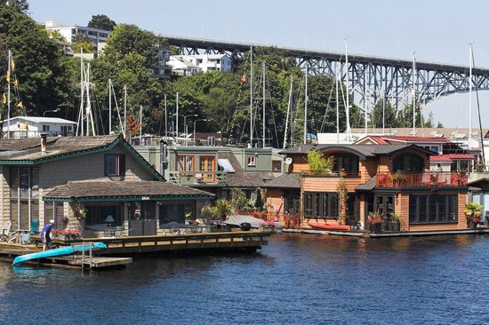 cool houseboats lake union houseboats houseboats pinterest seattle things to do and search. Black Bedroom Furniture Sets. Home Design Ideas