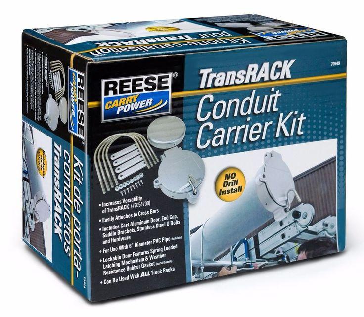 Details about Van Conduit Carrier Kit Aluminum for PVC 6